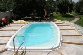 Композитный бассейн Баффало