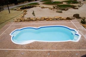 Композитный бассейн Балатон