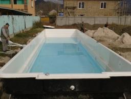 Строительство бассейна в Судаке