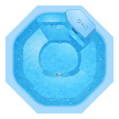 Композитный бассейн Baden