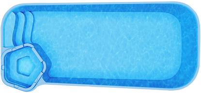 Композитный бассейн Rio